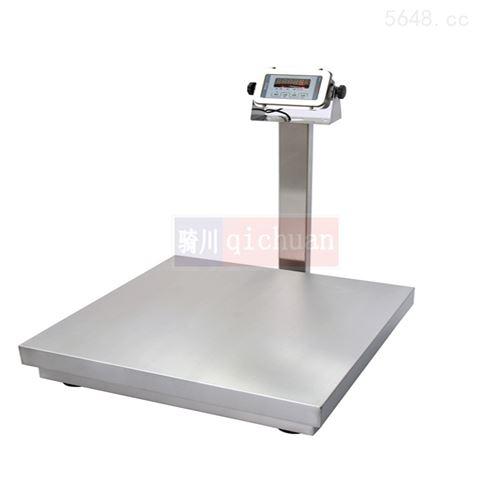 60kg不锈钢台秤厂家,75kg防水计重电子秤