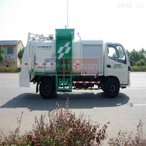 河南垃圾车改装称重系统,厨卫车电子秤1t