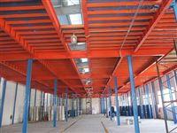 组合式平台货架-钢结构大跨度平台 中型货架