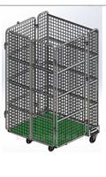 厂家直供烟草笼车可移动仓储物流台车