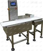 自動化包裝檢重機 可上下線判別的檢重儀